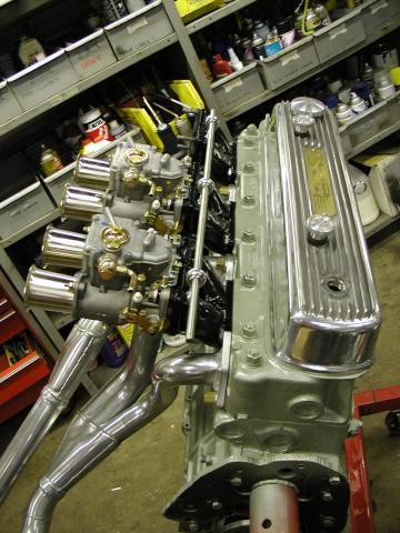 Austin Healey Engine Rebuild