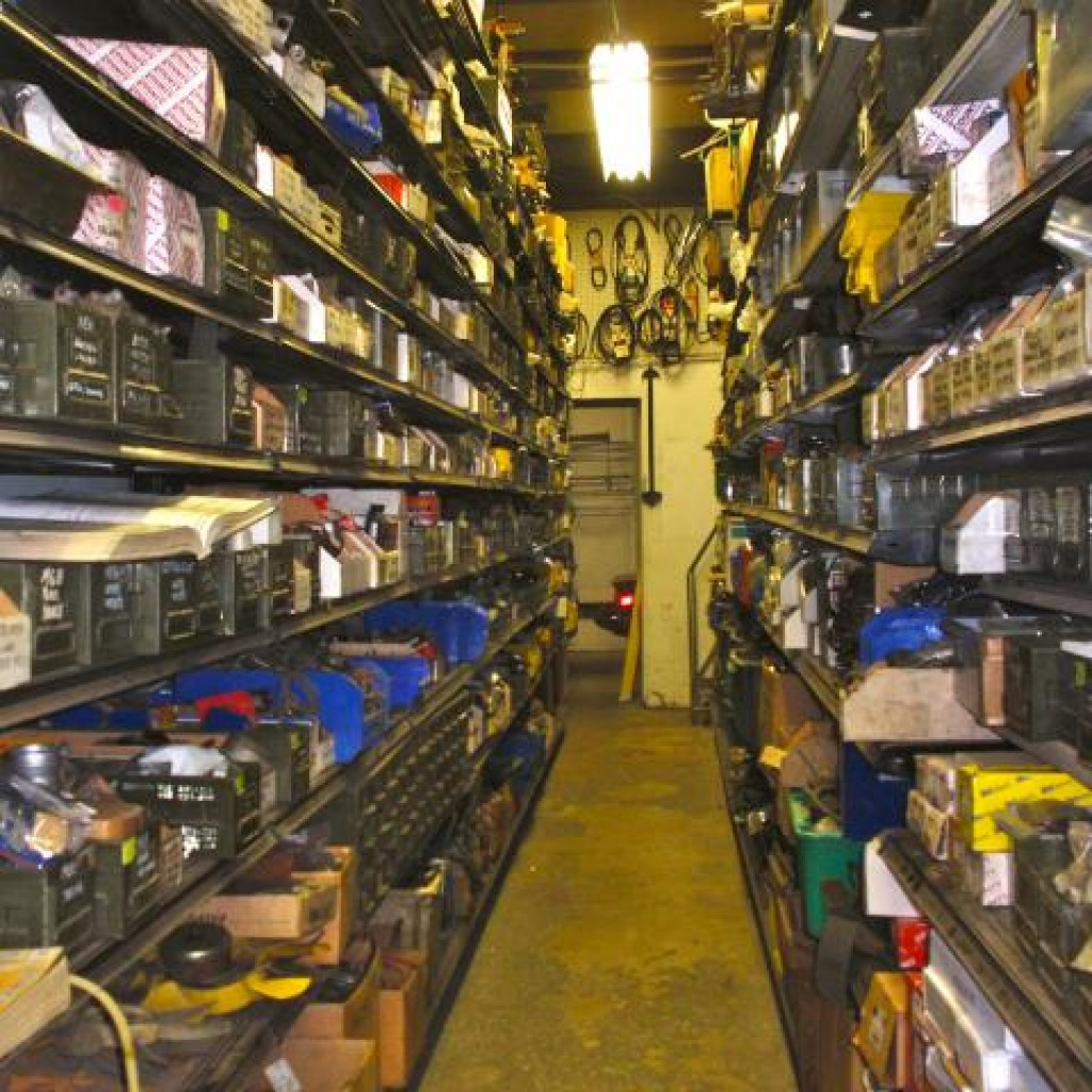 In-Shop Parts Department