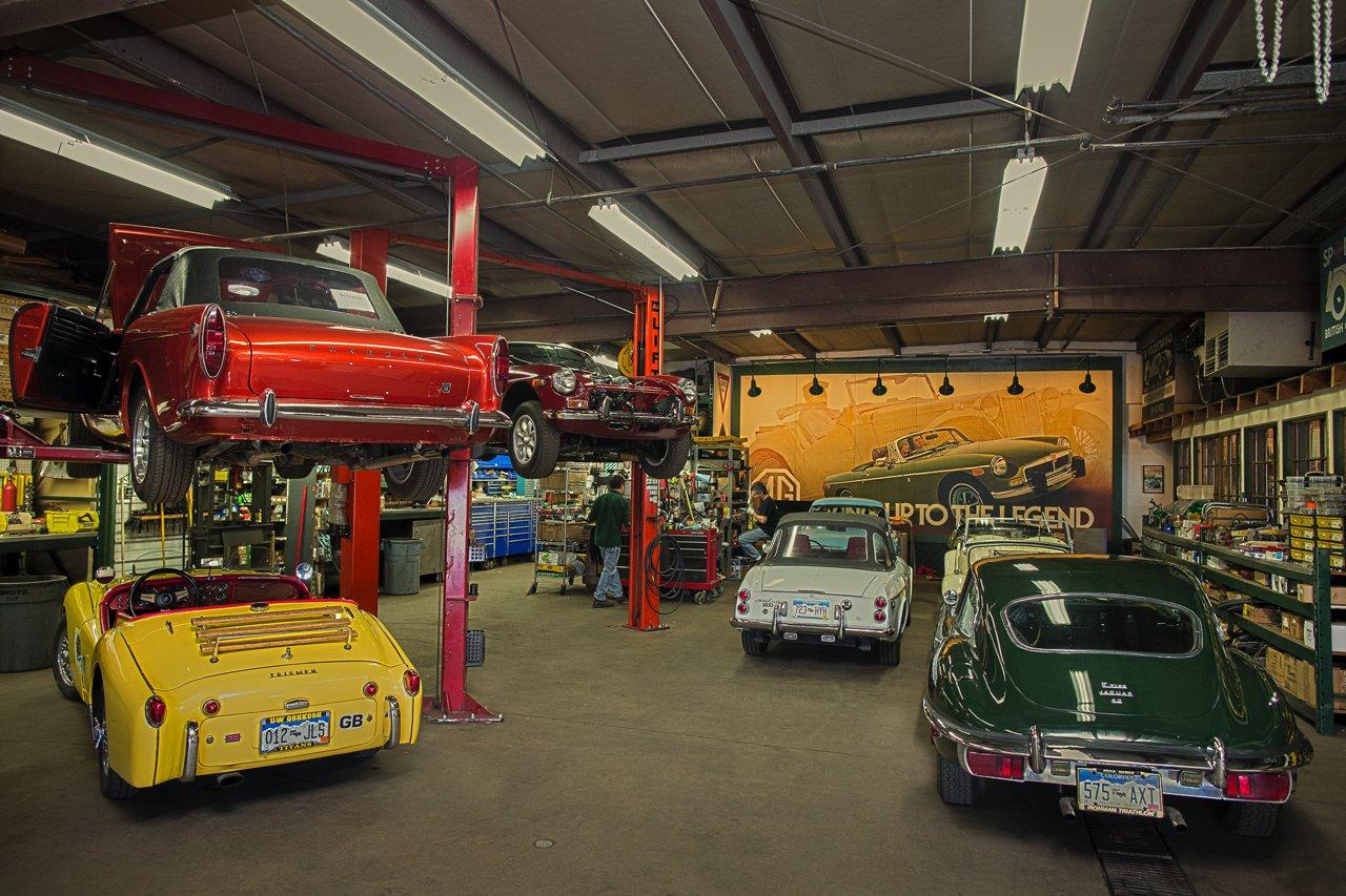 Our Services Sports Car Craftsmen British Car Service