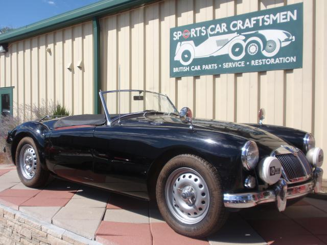 Amazing Transformations--Rare 1959 MGA Twin Cam 2