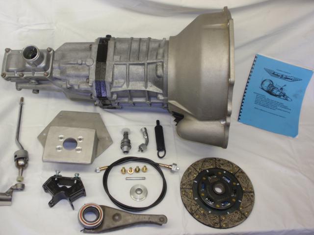 British Sports Car Transmission Conversion