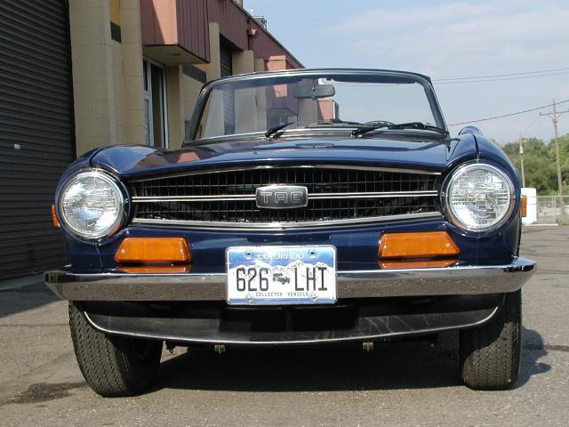 How to buy a TR6 (as featured in Classic Motorsports) 6