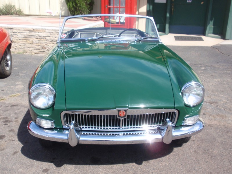 We Just Finished a Full Restoration for this 1963 MGB Roadster