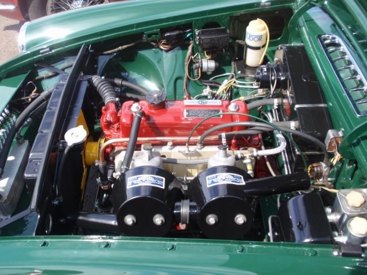 1963 MGB Roadster hood