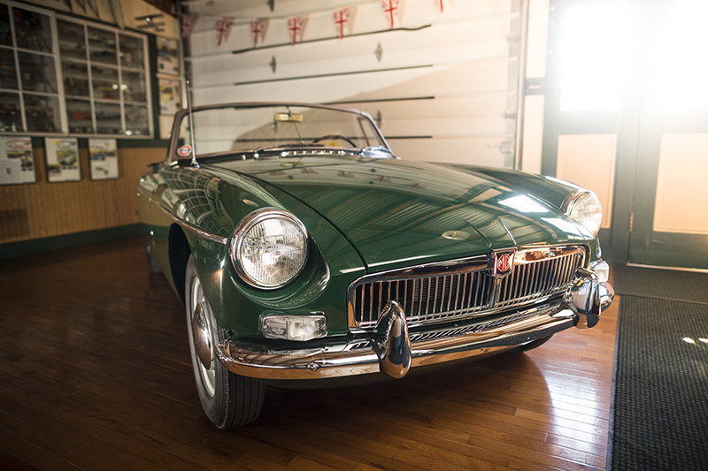Our very own fully restored 1963 MGB Roadster
