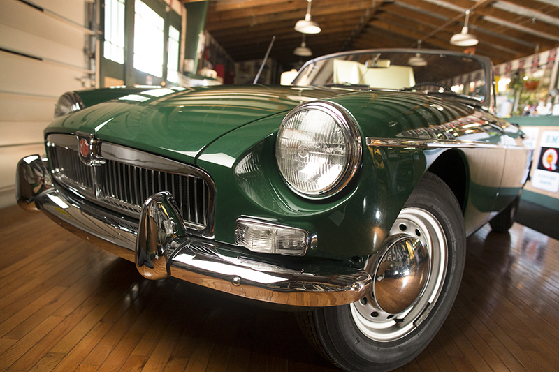Straight from the British Motoring Company in 1963 to California