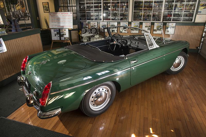 Restoration on 1963 Green MGB