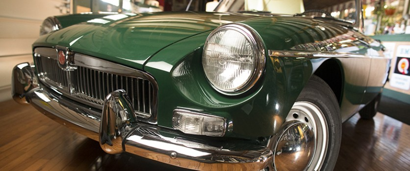 No Rust On Our Perfectly Renovated 1963 MGB Roadster