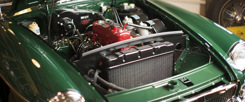 Fully Restored Engine for 1963 MGB Roadster