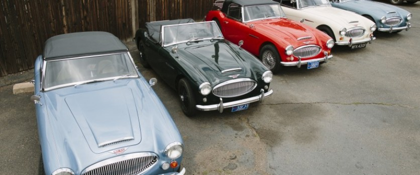 History of the Austin-Healey 3000