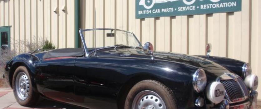Rare 1959 MGA Twin Cam