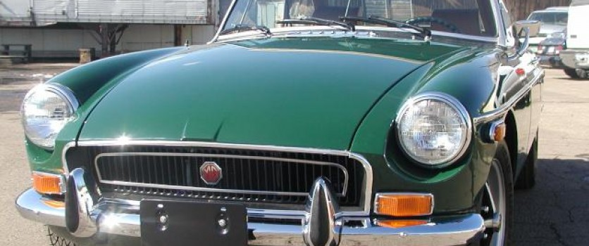 Buying an MGB Roadster or GT: Checking the Bodywork