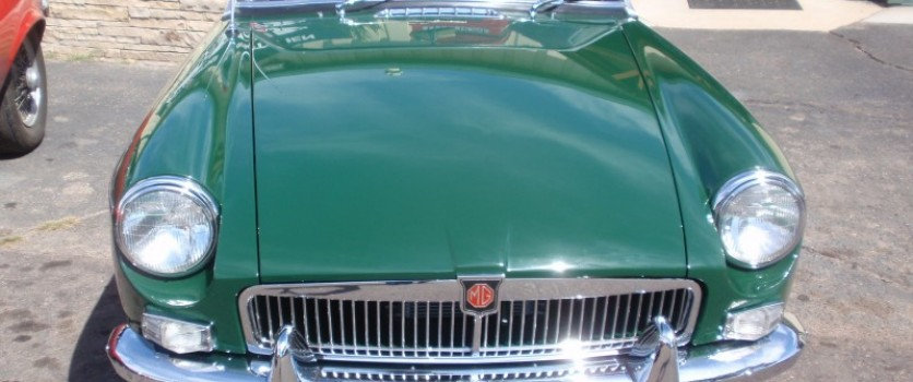 The Perfect Restoriation of the 1963 MGB Roadster