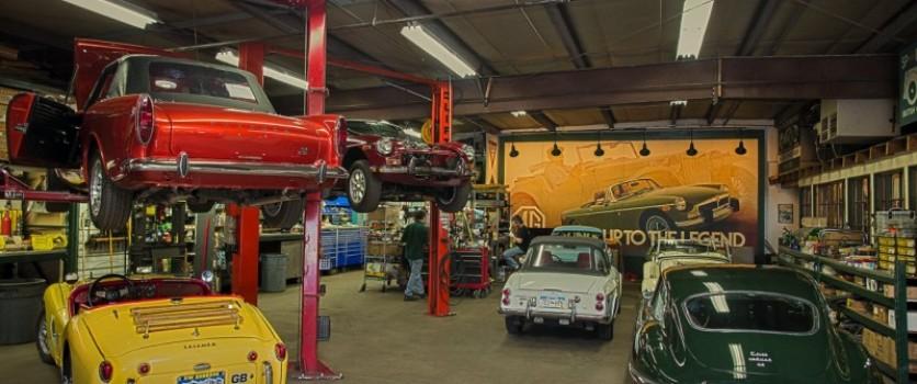 Restoring Your British Classic Sports Car At Our Shop