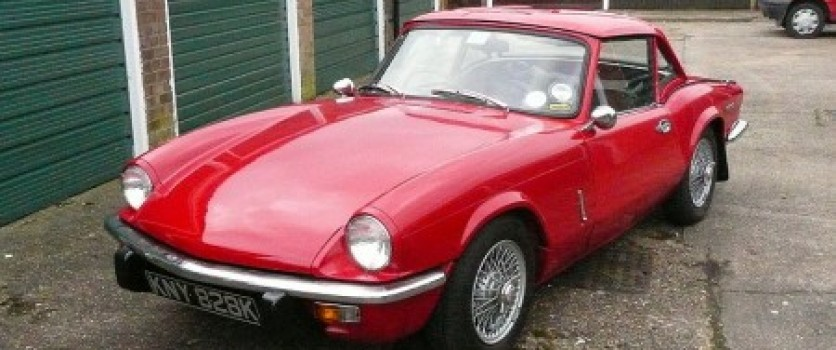 History of the Triumph Spitfire